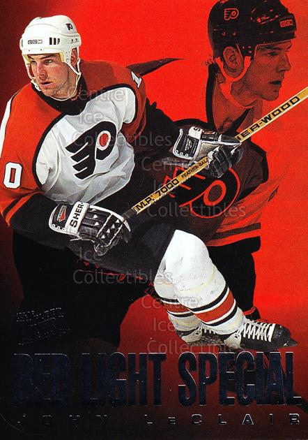 1995-96 Ultra Red Light Specials #5 John LeClair<br/>19 In Stock - $2.00 each - <a href=https://centericecollectibles.foxycart.com/cart?name=1995-96%20Ultra%20Red%20Light%20Specials%20%235%20John%20LeClair...&quantity_max=19&price=$2.00&code=45309 class=foxycart> Buy it now! </a>