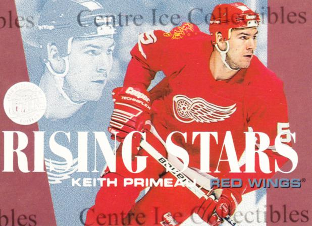1995-96 Ultra Rising Stars Gold Medallion #6 Keith Primeau<br/>4 In Stock - $3.00 each - <a href=https://centericecollectibles.foxycart.com/cart?name=1995-96%20Ultra%20Rising%20Stars%20Gold%20Medallion%20%236%20Keith%20Primeau...&quantity_max=4&price=$3.00&code=45318 class=foxycart> Buy it now! </a>