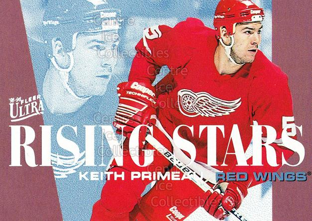 1995-96 Ultra Rising Stars #6 Keith Primeau<br/>21 In Stock - $2.00 each - <a href=https://centericecollectibles.foxycart.com/cart?name=1995-96%20Ultra%20Rising%20Stars%20%236%20Keith%20Primeau...&quantity_max=21&price=$2.00&code=45326 class=foxycart> Buy it now! </a>