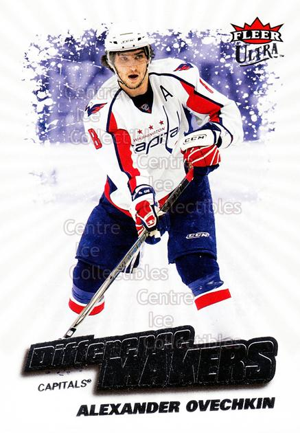 2008-09 Ultra Difference Makers #2 Alexander Ovechkin<br/>1 In Stock - $3.00 each - <a href=https://centericecollectibles.foxycart.com/cart?name=2008-09%20Ultra%20Difference%20Makers%20%232%20Alexander%20Ovech...&price=$3.00&code=453469 class=foxycart> Buy it now! </a>