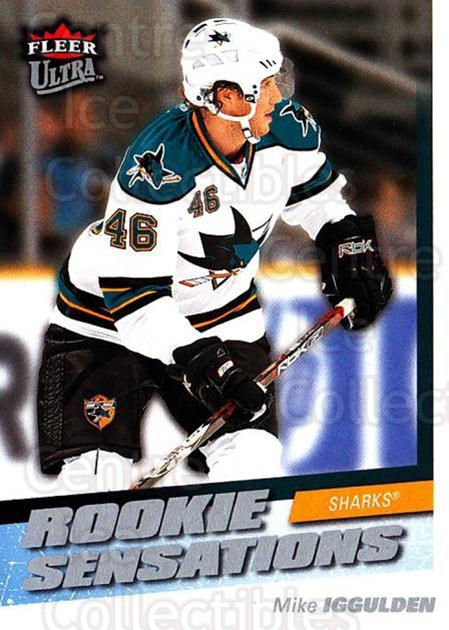 2008-09 Ultra Rookie Sensations #12 Mike Iggulden<br/>1 In Stock - $3.00 each - <a href=https://centericecollectibles.foxycart.com/cart?name=2008-09%20Ultra%20Rookie%20Sensations%20%2312%20Mike%20Iggulden...&quantity_max=1&price=$3.00&code=453499 class=foxycart> Buy it now! </a>