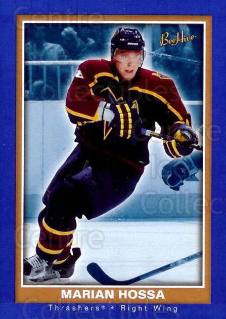 2005-06 Beehive Blue #6 Marian Hossa<br/>1 In Stock - $2.00 each - <a href=https://centericecollectibles.foxycart.com/cart?name=2005-06%20Beehive%20Blue%20%236%20Marian%20Hossa...&quantity_max=1&price=$2.00&code=454099 class=foxycart> Buy it now! </a>