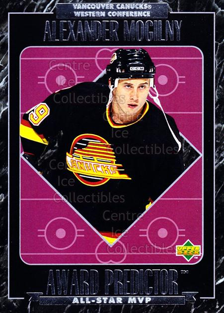 1995-96 Upper Deck Predictor AS Game #MVP04 Alexander Mogilny<br/>6 In Stock - $20.00 each - <a href=https://centericecollectibles.foxycart.com/cart?name=1995-96%20Upper%20Deck%20Predictor%20AS%20Game%20%23MVP04%20Alexander%20Mogil...&quantity_max=6&price=$20.00&code=45488 class=foxycart> Buy it now! </a>