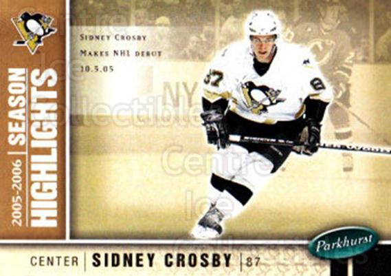 2005-06 Parkhurst #587 Sidney Crosby<br/>1 In Stock - $5.00 each - <a href=https://centericecollectibles.foxycart.com/cart?name=2005-06%20Parkhurst%20%23587%20Sidney%20Crosby...&price=$5.00&code=455118 class=foxycart> Buy it now! </a>