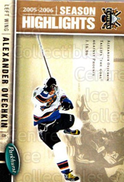 2005-06 Parkhurst #588 Alexander Ovechkin<br/>3 In Stock - $3.00 each - <a href=https://centericecollectibles.foxycart.com/cart?name=2005-06%20Parkhurst%20%23588%20Alexander%20Ovech...&price=$3.00&code=455119 class=foxycart> Buy it now! </a>
