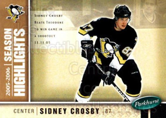 2005-06 Parkhurst #593 Sidney Crosby<br/>1 In Stock - $5.00 each - <a href=https://centericecollectibles.foxycart.com/cart?name=2005-06%20Parkhurst%20%23593%20Sidney%20Crosby...&price=$5.00&code=455121 class=foxycart> Buy it now! </a>