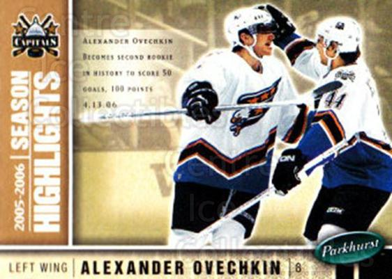 2005-06 Parkhurst #597 Alexander Ovechkin<br/>3 In Stock - $3.00 each - <a href=https://centericecollectibles.foxycart.com/cart?name=2005-06%20Parkhurst%20%23597%20Alexander%20Ovech...&price=$3.00&code=455122 class=foxycart> Buy it now! </a>