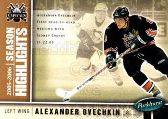 2005-06 Parkhurst #600 Alexander Ovechkin<br/>3 In Stock - $3.00 each - <a href=https://centericecollectibles.foxycart.com/cart?name=2005-06%20Parkhurst%20%23600%20Alexander%20Ovech...&price=$3.00&code=455123 class=foxycart> Buy it now! </a>