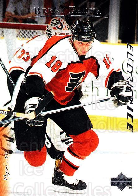 1995-96 Upper Deck Electric Ice #116 Brent Fedyk<br/>4 In Stock - $2.00 each - <a href=https://centericecollectibles.foxycart.com/cart?name=1995-96%20Upper%20Deck%20Electric%20Ice%20%23116%20Brent%20Fedyk...&quantity_max=4&price=$2.00&code=45528 class=foxycart> Buy it now! </a>