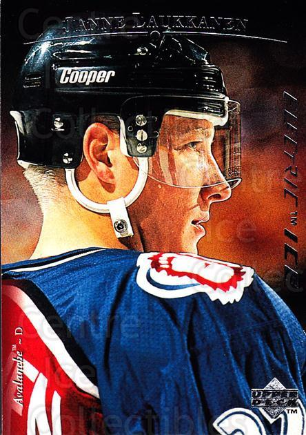 1995-96 Upper Deck Electric Ice #123 Janne Laukkanen<br/>4 In Stock - $2.00 each - <a href=https://centericecollectibles.foxycart.com/cart?name=1995-96%20Upper%20Deck%20Electric%20Ice%20%23123%20Janne%20Laukkanen...&quantity_max=4&price=$2.00&code=45536 class=foxycart> Buy it now! </a>