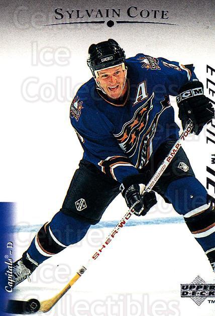 1995-96 Upper Deck Electric Ice #133 Sylvain Cote<br/>6 In Stock - $2.00 each - <a href=https://centericecollectibles.foxycart.com/cart?name=1995-96%20Upper%20Deck%20Electric%20Ice%20%23133%20Sylvain%20Cote...&quantity_max=6&price=$2.00&code=45547 class=foxycart> Buy it now! </a>