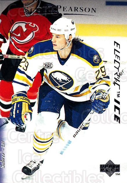 1995-96 Upper Deck Electric Ice #135 Scott Pearson<br/>5 In Stock - $2.00 each - <a href=https://centericecollectibles.foxycart.com/cart?name=1995-96%20Upper%20Deck%20Electric%20Ice%20%23135%20Scott%20Pearson...&quantity_max=5&price=$2.00&code=45549 class=foxycart> Buy it now! </a>