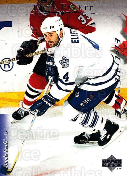 1995-96 Upper Deck Electric Ice #144 Dave Ellett<br/>4 In Stock - $2.00 each - <a href=https://centericecollectibles.foxycart.com/cart?name=1995-96%20Upper%20Deck%20Electric%20Ice%20%23144%20Dave%20Ellett...&quantity_max=4&price=$2.00&code=45558 class=foxycart> Buy it now! </a>