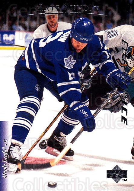 1995-96 Upper Deck Electric Ice #147 Mats Sundin<br/>4 In Stock - $2.00 each - <a href=https://centericecollectibles.foxycart.com/cart?name=1995-96%20Upper%20Deck%20Electric%20Ice%20%23147%20Mats%20Sundin...&quantity_max=4&price=$2.00&code=45561 class=foxycart> Buy it now! </a>