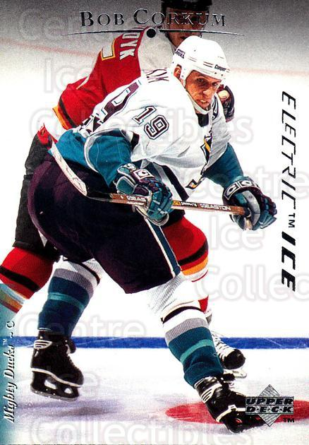 1995-96 Upper Deck Electric Ice #149 Bob Corkum<br/>6 In Stock - $2.00 each - <a href=https://centericecollectibles.foxycart.com/cart?name=1995-96%20Upper%20Deck%20Electric%20Ice%20%23149%20Bob%20Corkum...&quantity_max=6&price=$2.00&code=45563 class=foxycart> Buy it now! </a>