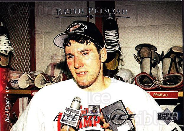 1995-96 Upper Deck Electric Ice #159 Keith Primeau<br/>6 In Stock - $2.00 each - <a href=https://centericecollectibles.foxycart.com/cart?name=1995-96%20Upper%20Deck%20Electric%20Ice%20%23159%20Keith%20Primeau...&quantity_max=6&price=$2.00&code=45574 class=foxycart> Buy it now! </a>