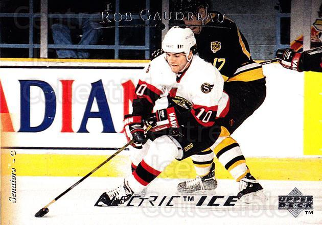 1995-96 Upper Deck Electric Ice #164 Rob Gaudreau<br/>4 In Stock - $2.00 each - <a href=https://centericecollectibles.foxycart.com/cart?name=1995-96%20Upper%20Deck%20Electric%20Ice%20%23164%20Rob%20Gaudreau...&quantity_max=4&price=$2.00&code=45580 class=foxycart> Buy it now! </a>