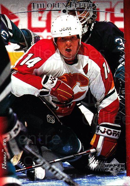1995-96 Upper Deck Electric Ice #179 Theo Fleury<br/>3 In Stock - $2.00 each - <a href=https://centericecollectibles.foxycart.com/cart?name=1995-96%20Upper%20Deck%20Electric%20Ice%20%23179%20Theo%20Fleury...&quantity_max=3&price=$2.00&code=45595 class=foxycart> Buy it now! </a>