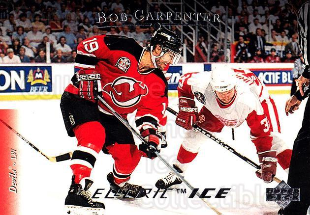 1995-96 Upper Deck Electric Ice #183 Bob Carpenter<br/>5 In Stock - $2.00 each - <a href=https://centericecollectibles.foxycart.com/cart?name=1995-96%20Upper%20Deck%20Electric%20Ice%20%23183%20Bob%20Carpenter...&quantity_max=5&price=$2.00&code=45600 class=foxycart> Buy it now! </a>