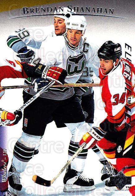1995-96 Upper Deck Electric Ice #184 Brendan Shanahan<br/>3 In Stock - $2.00 each - <a href=https://centericecollectibles.foxycart.com/cart?name=1995-96%20Upper%20Deck%20Electric%20Ice%20%23184%20Brendan%20Shanaha...&quantity_max=3&price=$2.00&code=45601 class=foxycart> Buy it now! </a>
