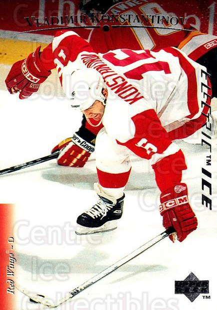 1995-96 Upper Deck Electric Ice #190 Vladimir Konstantinov<br/>1 In Stock - $2.00 each - <a href=https://centericecollectibles.foxycart.com/cart?name=1995-96%20Upper%20Deck%20Electric%20Ice%20%23190%20Vladimir%20Konsta...&quantity_max=1&price=$2.00&code=45608 class=foxycart> Buy it now! </a>