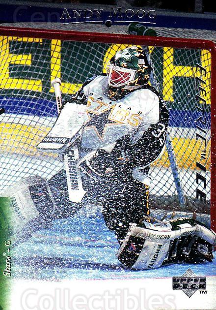 1995-96 Upper Deck Electric Ice #191 Andy Moog<br/>3 In Stock - $2.00 each - <a href=https://centericecollectibles.foxycart.com/cart?name=1995-96%20Upper%20Deck%20Electric%20Ice%20%23191%20Andy%20Moog...&quantity_max=3&price=$2.00&code=45609 class=foxycart> Buy it now! </a>