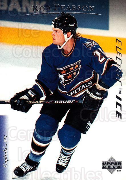 1995-96 Upper Deck Electric Ice #212 Rob Pearson<br/>4 In Stock - $2.00 each - <a href=https://centericecollectibles.foxycart.com/cart?name=1995-96%20Upper%20Deck%20Electric%20Ice%20%23212%20Rob%20Pearson...&quantity_max=4&price=$2.00&code=45631 class=foxycart> Buy it now! </a>