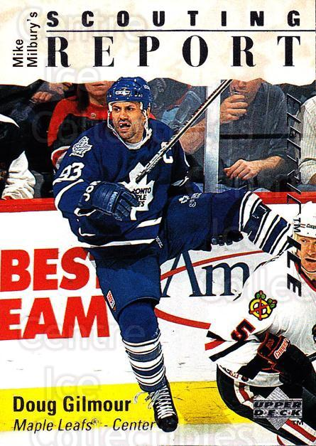 1995-96 Upper Deck Electric Ice #240 Doug Gilmour<br/>3 In Stock - $2.00 each - <a href=https://centericecollectibles.foxycart.com/cart?name=1995-96%20Upper%20Deck%20Electric%20Ice%20%23240%20Doug%20Gilmour...&quantity_max=3&price=$2.00&code=45652 class=foxycart> Buy it now! </a>
