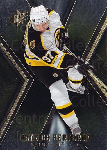 2005-06 Spx #6 Patrice Bergeron<br/>6 In Stock - $2.00 each - <a href=https://centericecollectibles.foxycart.com/cart?name=2005-06%20Spx%20%236%20Patrice%20Bergero...&quantity_max=6&price=$2.00&code=456667 class=foxycart> Buy it now! </a>