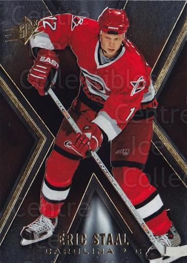 2005-06 Spx #16 Eric Staal<br/>3 In Stock - $1.00 each - <a href=https://centericecollectibles.foxycart.com/cart?name=2005-06%20Spx%20%2316%20Eric%20Staal...&quantity_max=3&price=$1.00&code=456677 class=foxycart> Buy it now! </a>