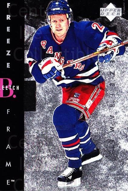 1995-96 Upper Deck Freeze Frame Jumbo #18 Brian Leetch<br/>5 In Stock - $5.00 each - <a href=https://centericecollectibles.foxycart.com/cart?name=1995-96%20Upper%20Deck%20Freeze%20Frame%20Jumbo%20%2318%20Brian%20Leetch...&quantity_max=5&price=$5.00&code=45667 class=foxycart> Buy it now! </a>