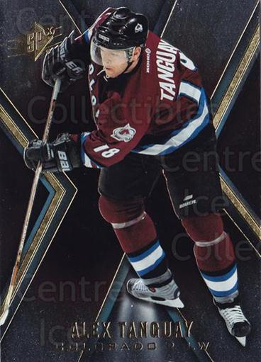 2005-06 Spx #22 Alex Tanguay<br/>7 In Stock - $1.00 each - <a href=https://centericecollectibles.foxycart.com/cart?name=2005-06%20Spx%20%2322%20Alex%20Tanguay...&quantity_max=7&price=$1.00&code=456683 class=foxycart> Buy it now! </a>