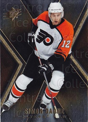 2005-06 Spx #67 Simon Gagne<br/>5 In Stock - $1.00 each - <a href=https://centericecollectibles.foxycart.com/cart?name=2005-06%20Spx%20%2367%20Simon%20Gagne...&quantity_max=5&price=$1.00&code=456728 class=foxycart> Buy it now! </a>