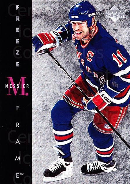 1995-96 Upper Deck Freeze Frame Jumbo #7 Mark Messier<br/>6 In Stock - $5.00 each - <a href=https://centericecollectibles.foxycart.com/cart?name=1995-96%20Upper%20Deck%20Freeze%20Frame%20Jumbo%20%237%20Mark%20Messier...&quantity_max=6&price=$5.00&code=45673 class=foxycart> Buy it now! </a>