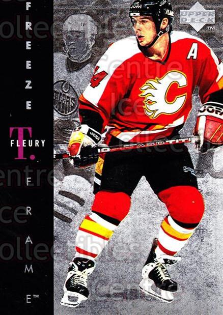 1995-96 Upper Deck Freeze Frame #12 Theo Fleury<br/>4 In Stock - $3.00 each - <a href=https://centericecollectibles.foxycart.com/cart?name=1995-96%20Upper%20Deck%20Freeze%20Frame%20%2312%20Theo%20Fleury...&quantity_max=4&price=$3.00&code=45676 class=foxycart> Buy it now! </a>