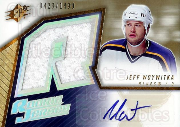 2005-06 Spx #157 Jeff Woywitka<br/>1 In Stock - $5.00 each - <a href=https://centericecollectibles.foxycart.com/cart?name=2005-06%20Spx%20%23157%20Jeff%20Woywitka...&price=$5.00&code=456818 class=foxycart> Buy it now! </a>
