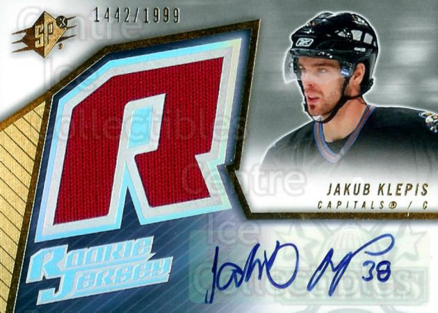 2005-06 Spx #243 Jakub Klepis<br/>1 In Stock - $5.00 each - <a href=https://centericecollectibles.foxycart.com/cart?name=2005-06%20Spx%20%23243%20Jakub%20Klepis...&quantity_max=1&price=$5.00&code=456904 class=foxycart> Buy it now! </a>