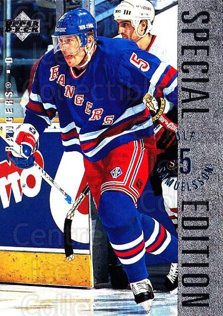 1995-96 Upper Deck Special Edition #142 Ulf Samuelsson<br/>2 In Stock - $1.00 each - <a href=https://centericecollectibles.foxycart.com/cart?name=1995-96%20Upper%20Deck%20Special%20Edition%20%23142%20Ulf%20Samuelsson...&quantity_max=2&price=$1.00&code=45890 class=foxycart> Buy it now! </a>