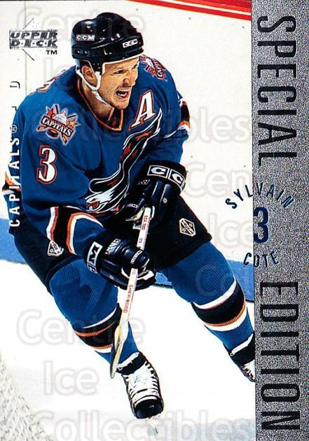 1995-96 Upper Deck Special Edition #176 Sylvain Cote<br/>4 In Stock - $1.00 each - <a href=https://centericecollectibles.foxycart.com/cart?name=1995-96%20Upper%20Deck%20Special%20Edition%20%23176%20Sylvain%20Cote...&quantity_max=4&price=$1.00&code=45924 class=foxycart> Buy it now! </a>