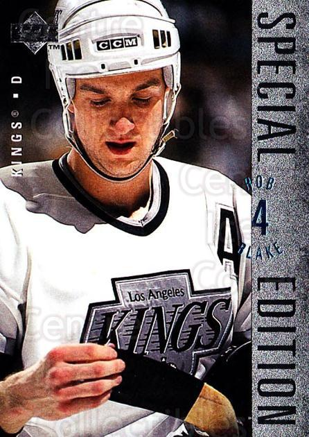 1995-96 Upper Deck Special Edition #42 Rob Blake<br/>4 In Stock - $1.00 each - <a href=https://centericecollectibles.foxycart.com/cart?name=1995-96%20Upper%20Deck%20Special%20Edition%20%2342%20Rob%20Blake...&quantity_max=4&price=$1.00&code=45952 class=foxycart> Buy it now! </a>