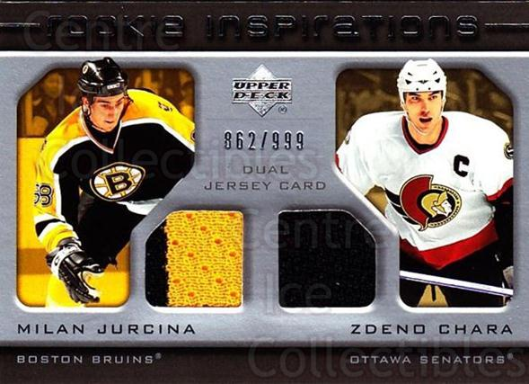 2005-06 Upper Deck Rookie Update #198 Milan Jurcina, Zdeno Chara<br/>1 In Stock - $10.00 each - <a href=https://centericecollectibles.foxycart.com/cart?name=2005-06%20Upper%20Deck%20Rookie%20Update%20%23198%20Milan%20Jurcina,%20...&quantity_max=1&price=$10.00&code=459618 class=foxycart> Buy it now! </a>
