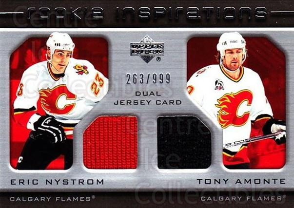 2005-06 Upper Deck Rookie Update #200 Eric Nystrom, Tony Amonte<br/>1 In Stock - $10.00 each - <a href=https://centericecollectibles.foxycart.com/cart?name=2005-06%20Upper%20Deck%20Rookie%20Update%20%23200%20Eric%20Nystrom,%20T...&quantity_max=1&price=$10.00&code=459620 class=foxycart> Buy it now! </a>