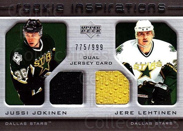 2005-06 Upper Deck Rookie Update #207 Jussi Jokinen, Jere Lehtinen<br/>1 In Stock - $10.00 each - <a href=https://centericecollectibles.foxycart.com/cart?name=2005-06%20Upper%20Deck%20Rookie%20Update%20%23207%20Jussi%20Jokinen,%20...&quantity_max=1&price=$10.00&code=459627 class=foxycart> Buy it now! </a>