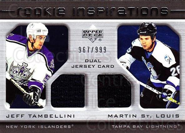 2005-06 Upper Deck Rookie Update #212 Jeff Tambellini, Martin St. Louis<br/>1 In Stock - $10.00 each - <a href=https://centericecollectibles.foxycart.com/cart?name=2005-06%20Upper%20Deck%20Rookie%20Update%20%23212%20Jeff%20Tambellini...&quantity_max=1&price=$10.00&code=459632 class=foxycart> Buy it now! </a>