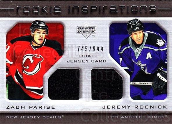 2005-06 Upper Deck Rookie Update #216 Zach Parise, Jeremy Roenick<br/>1 In Stock - $20.00 each - <a href=https://centericecollectibles.foxycart.com/cart?name=2005-06%20Upper%20Deck%20Rookie%20Update%20%23216%20Zach%20Parise,%20Je...&quantity_max=1&price=$20.00&code=459636 class=foxycart> Buy it now! </a>