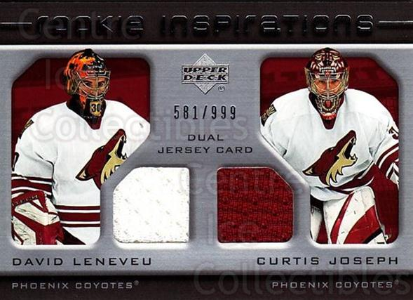 2005-06 Upper Deck Rookie Update #227 David Leneveu, Curtis Joseph<br/>1 In Stock - $10.00 each - <a href=https://centericecollectibles.foxycart.com/cart?name=2005-06%20Upper%20Deck%20Rookie%20Update%20%23227%20David%20Leneveu,%20...&quantity_max=1&price=$10.00&code=459647 class=foxycart> Buy it now! </a>