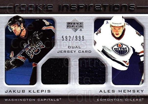 2005-06 Upper Deck Rookie Update #236 Jakub Klepis, Ales Hemsky<br/>1 In Stock - $10.00 each - <a href=https://centericecollectibles.foxycart.com/cart?name=2005-06%20Upper%20Deck%20Rookie%20Update%20%23236%20Jakub%20Klepis,%20A...&quantity_max=1&price=$10.00&code=459656 class=foxycart> Buy it now! </a>