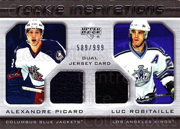 2005-06 Upper Deck Rookie Update #240 Alexandre Picard, Luc Robitaille<br/>1 In Stock - $10.00 each - <a href=https://centericecollectibles.foxycart.com/cart?name=2005-06%20Upper%20Deck%20Rookie%20Update%20%23240%20Alexandre%20Picar...&quantity_max=1&price=$10.00&code=459660 class=foxycart> Buy it now! </a>