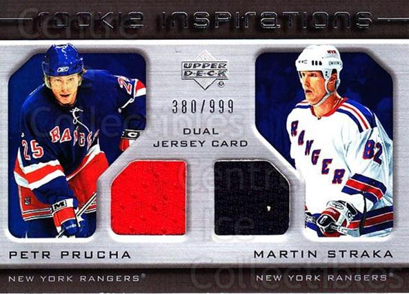 2005-06 Upper Deck Rookie Update #255 Petr Prucha, Martin Straka<br/>1 In Stock - $10.00 each - <a href=https://centericecollectibles.foxycart.com/cart?name=2005-06%20Upper%20Deck%20Rookie%20Update%20%23255%20Petr%20Prucha,%20Ma...&quantity_max=1&price=$10.00&code=459675 class=foxycart> Buy it now! </a>