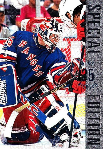 1995-96 Upper Deck Special Edition #58 Mike Richter<br/>1 In Stock - $1.00 each - <a href=https://centericecollectibles.foxycart.com/cart?name=1995-96%20Upper%20Deck%20Special%20Edition%20%2358%20Mike%20Richter...&quantity_max=1&price=$1.00&code=45968 class=foxycart> Buy it now! </a>